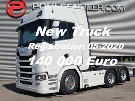 cab over engine Scania S650 6x2 2950mm Ready for delivery -DOUBLE BOOGIE RETARDER EURO 6 2020