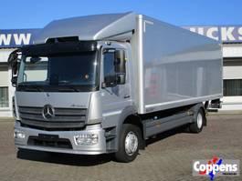 closed box truck > 7.5 t Mercedes Benz 1227 L Euro 6 2015