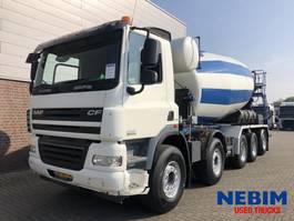 concrete mixer truck DAF CF85 410 Euro 5 10x4R - IMER 14M3 MIXER 2008