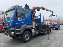 crane truck MAN TGS 28 480 6x4-4 Euro 5 EEV Holz transporter Fly jib and winch (Zimmerei) 2012