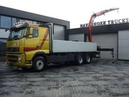platform truck Volvo FH 13.480 6x4 Euro 5 Crane Fassi F215 2011