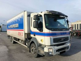 refrigerated truck Volvo FL240 , Euro 5, Steel/Air, 2-Zone Ref-truck, 2009 2009