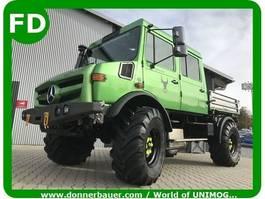 LKW Kipper > 7.5 t Unimog Unimog 427 Doka, Doppelkabine, FUNMOG, 5-6 Sitzplätze, Showfahrzeug 1996