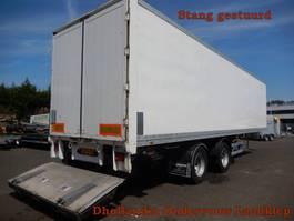 closed box semi trailer Van Hool 1B1001 2 As Oplegger Gesloten, OF-11-YD 1999