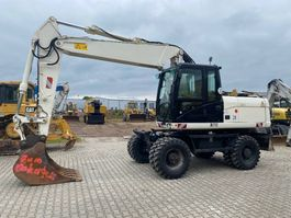 wheeled excavator Caterpillar M 318 D 5848 Hours original! 2012