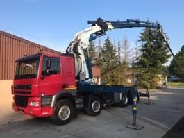 crane truck DAF CF85.430 8X4 +CRANE GORMACH 65TON+JIB + HEAVY HAULING 2005