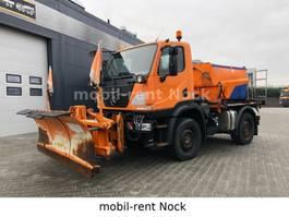 LKW Kipper > 7.5 t Unimog U20/Winterdienst Schild+Streuer/Top Zustand