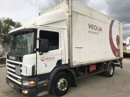 closed box truck > 7.5 t Scania 94D 260 **FULL STEEL SUSPENSION-A LAMES** 1999
