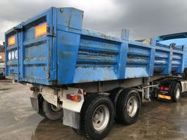 tipper semi trailer Trailor **TIPPER-BENNE-FULL STEEL** 1986