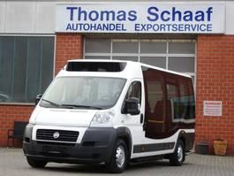 wheelchair transport lcv Fiat Ducato Civitas Citybus 9 Sitze Klima Rollstuhlrampe 3.5t Euro 5 2012