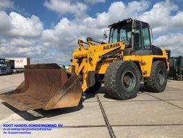wheel loader Ahlmann AZ 150 2x Bucket+Forks 2005