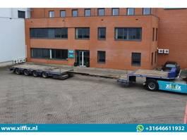 Satteltieflader Auflieger TSR 4-ass. Uitschuifbare semi dieplader 2012