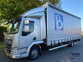 sliding curtain truck DAF LF 260 SCHUIFZEIL / SCHUIFDAK / HEFDAK 2017