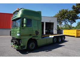 container truck DAF XF105-510 / SUPERSPACECAB / AUTOMATIC / 8X2 / CABLESYSTEM / EURO-5 / 2011 2011