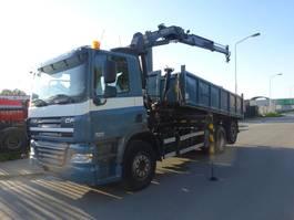 tipper truck > 7.5 t DAF 85 CF 360 6X2 EURO 5 KIPPER + PALFINGER KRAAN !!! 2008