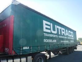 sliding curtain semi trailer Schmitz Cargobull Tautliner 2006