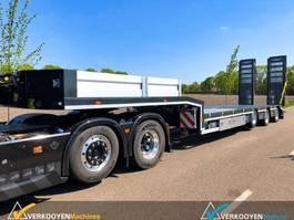semi lowloader semi trailer Vlastuin VTR OBS-18-30 HU (Nooteboom) 2020