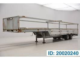 Tieflader Auflieger Titan Low bed trailer 1976