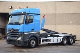 container truck Mercedes-Benz ACTROS 2645 6X2  CONTAINER SYSTEEM- CONTAINER SISTEEM- CONTAINER HAAKSYSTEEM- SYSTEME CONTENEUR 2014