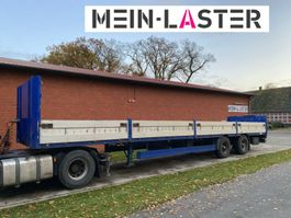 Pritsche offen Auflieger Meusburger Baustoffpritsche 13,6m  Lenkachse  NL 25.200 kg