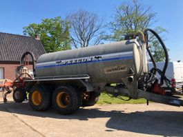 fertiliser spreader Peecon 15000 liter mesttank 2001