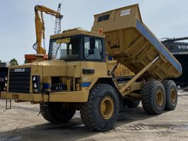 articulated dump truck Caterpillar D250B Dumper Good Condition 1994