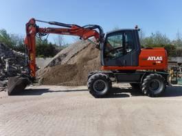 wheeled excavator Atlas 140W 2012