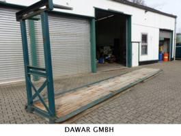 lowloader semi trailer Langendorf 6x Innenladerpaletten/Beton Innenladerpaletten