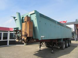 tipper semi trailer Kaiser 3 AXEL KIPPER,( STEELSUSPENSION ) 1993