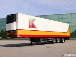 refrigerated semi trailer Burg 3-AS KOEL VRIES 2x LIFTAS 1x STUURAS WIDESPREAD  3 TONS KLEP 2005