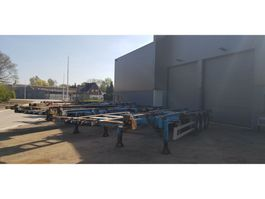 container chassis semi trailer Pacton 1 pakket 5 containertrailers