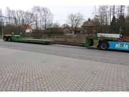 lowloader semi trailer Faymonville 2-ass. Uitschuifbare dieplader met afn. nek // PENDEL assen 2013
