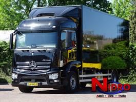 closed box truck > 7.5 t Mercedes Benz ACTROS 1927 6-SEATS NAVI AC CAMERA LIFT 2000 kg 2016