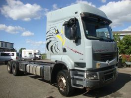chassis cab truck Renault 450DXI LANDER 6X4 SPRINGS MANUAL GEARBOX,VOLVO ENGINE 2009