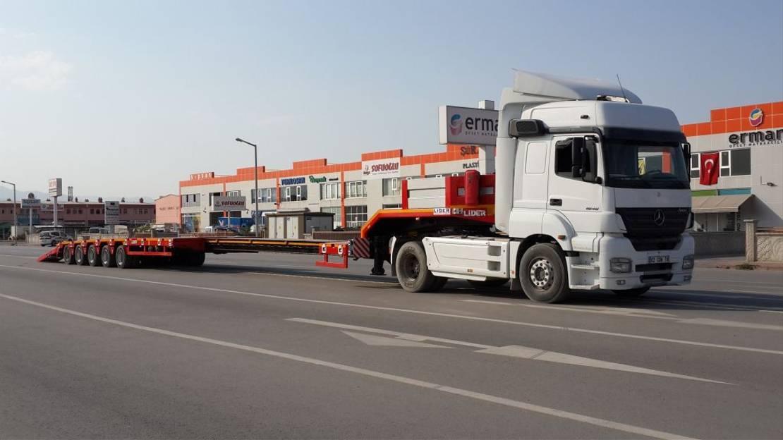 Tieflader Auflieger Lider extendable lowbed semi trailer 2020