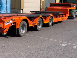 semirreboque com plataforma baixa Lider Lowbed semi trailer 2020
