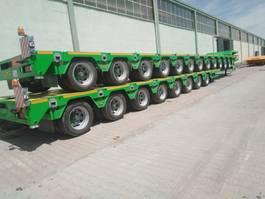 lowloader semi trailer Lider Extendable 8 axle lowbed semi trailer 2021