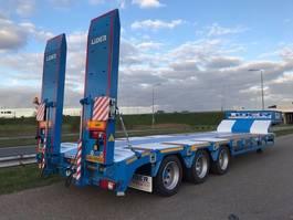 semi lowloader semi trailer Lider lowbed trailer 2021