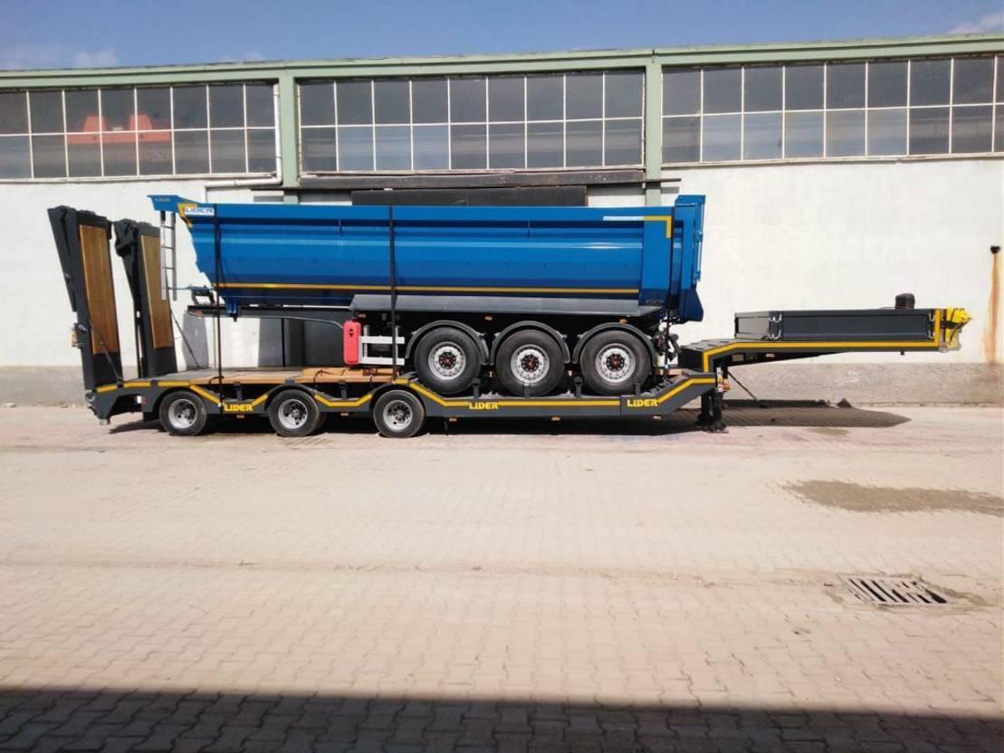 Tieflader Auflieger Lider lowbed trailer 2020