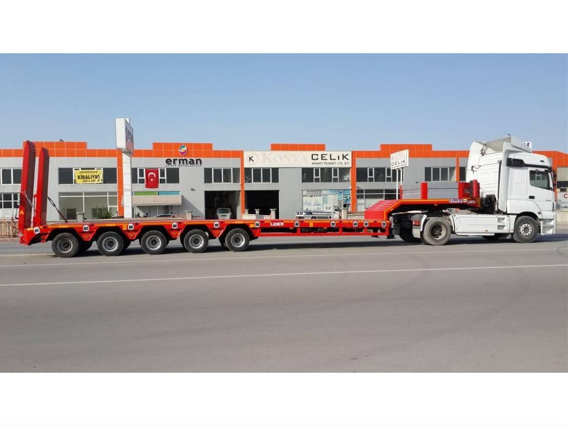 Tieflader Auflieger Lider Low-loader semi trailer 2020
