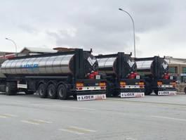 tank semi trailer semi trailer Lider Bitumen tanker semi trailer 2021