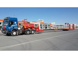 Tieflader Auflieger Lider extendable 6 axle lowbed semi trailer 2020