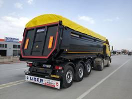 tipper semi trailer Lider Hardox tipper semi trailer 2021