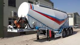 cysterna przyczepa naczepa Lider cement tankers. 2020