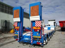 semirreboque com plataforma baixa Lider Lowbed semi trailer. 2020