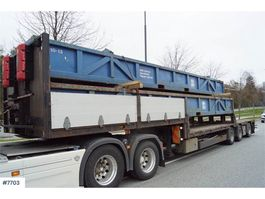other semi trailers HRD Jumbo semi-trailer with pull-out, manual widening 2010
