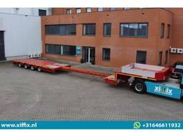semi lowloader semi trailer ES-GE 4-ass. Uitschuifbare semi dieplader // 80 cm. hoog 2017