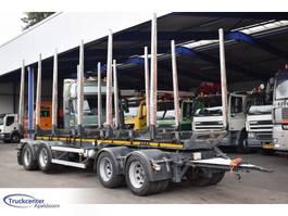 timber trailer GS Meppel AV-3600 H, Alucar, BPW, Truckcenter Apeldoorn 2008
