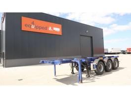 Container-Fahrgestell Auflieger M&V 20FT/3-Achsen, ADR (EX/II, EX/III, FL, OX, AT), Leergewicht: 3.980kg, Li... 2010