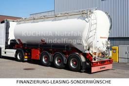feed semi trailer Kaessbohrer SSK40 Kipp Silo 40m³ Alu Lift BPW TOP Zust. 2007